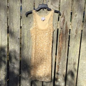 Pearlized Sequin Dress